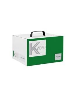 Kit base di impianto a colori audio video 2 fili