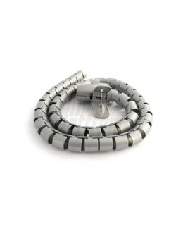 Spirale copricavo 1 mt. argento