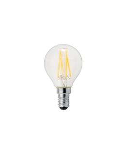 Lampada filoled 2,5W sfera chiara E14