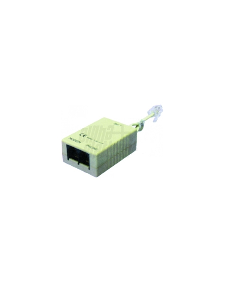 Filtro ADSL sdoppiatore 6P4C con cavetto