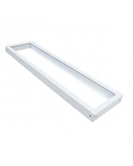 Cornice bianca per pannelli LED 120X30