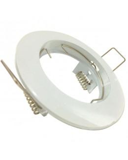 Faretto incasso bianco fisso 65 mm