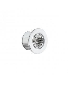 Faretto LED 1W 350mA silver 6400K