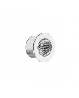 Faretto LED 1W 350mA silver 4000K