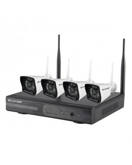 Kit TV-CC WIFI con 4 telecamere IP