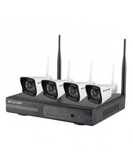 Kit TV-CC WIFI con 4 telecamere