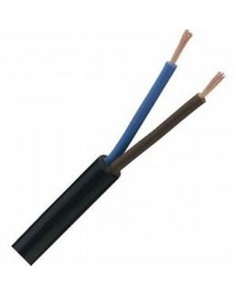 Cavo elettrico H03VV-F 2X0,75 nero