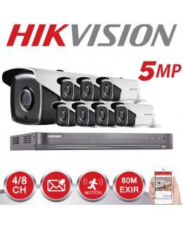 Kit videosorveglianza 8 camere 5 Mp Hikvision