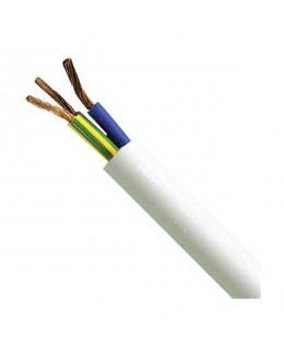 Cavo elettrico H05VV-F 3G1 bianco