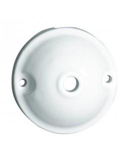 Rosone liscio in ceramica da 70 mm
