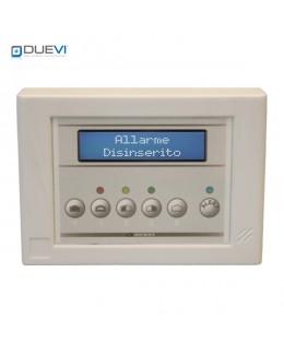 Tastiera per centrali allarme CE100-8GSM