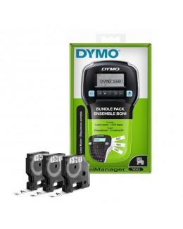 Kit etichettatrice DYMO LM160+3 nastri D1