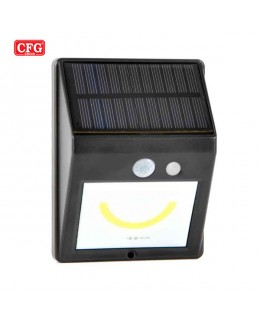 Smile solar light