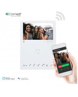 Monitor mini a colori vivavoce  WI-FI. SBTOP COMELIT
