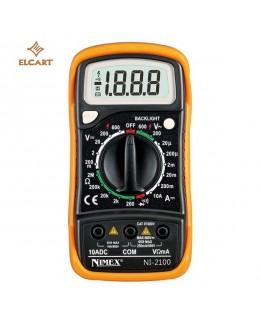 Multimetro digitale 3 1/2 LCD NI2100