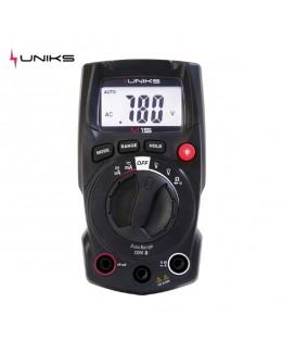 Multimetro digitale ultracompatto UNIKS