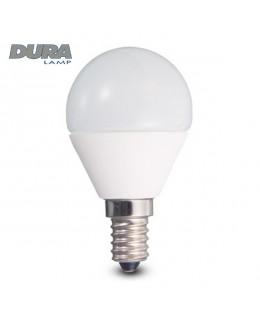 Lampada sfera LED E14 5,3W 3000K