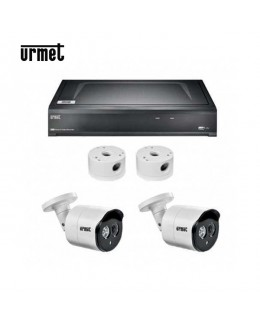 Kit video con NVR 4 CH IP con 2 telecamere