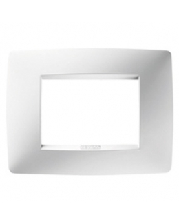Placca ONE  bianco latte