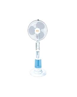 Ventilatore a piantana con nebulizzatore