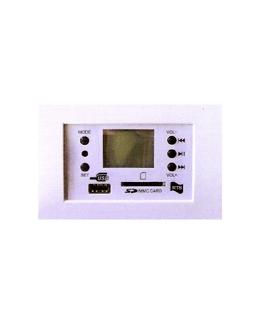 Centralina FM/MP3 da incasso 20W bianca