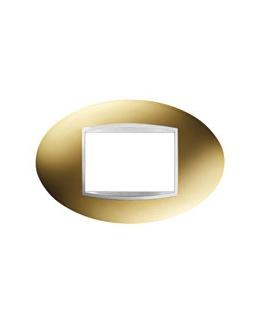 Placca ART 3 posti oro